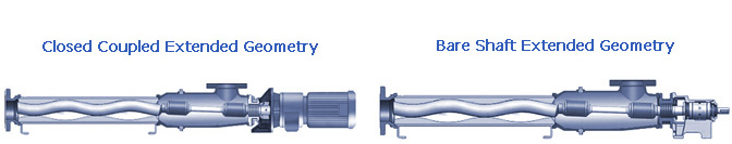 Xtra Large Capacity 'RL' Series Pumps - Extended Geometry